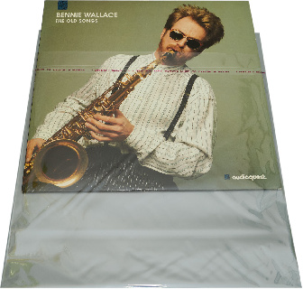 Resealable Record Sleeves BOPP 50 штук