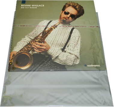 Resealable Record Sleeves BOPP 100 штук