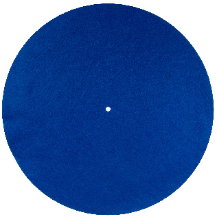 Felt- Mat 300mm Blue