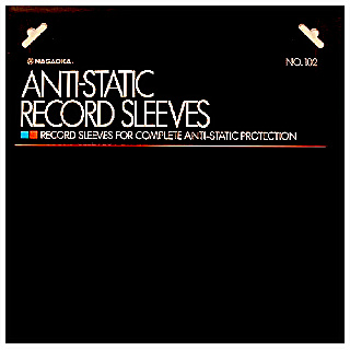 Anti-static record sleeves №102